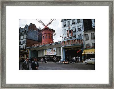 Moulin Rouge Framed Print by Theo Bethel