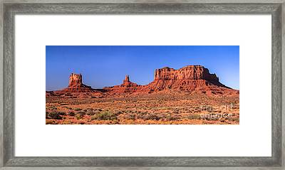 Mounment Valley Framed Print by Robert Bales