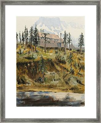 Mount Baker Lodge Framed Print