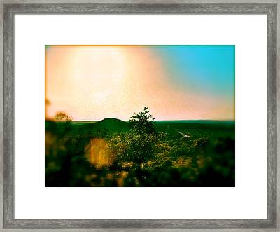 Mount Baldy Framed Print by Amber Hennessey
