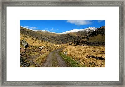 Mount Brandon Framed Print by Barbara Walsh
