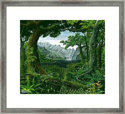 Mount Chirripo  Framed Print