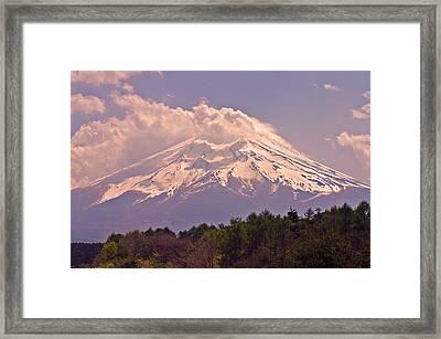 Mount Fuji Framed Print by David Rucker