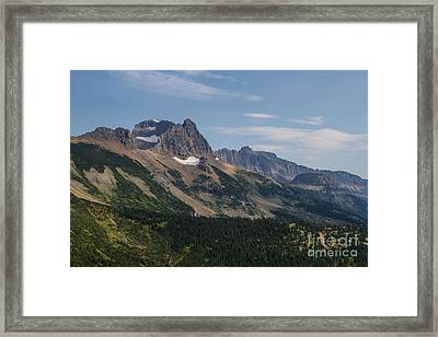 Framed Print featuring the photograph Mount Gould O Garden Wall To Haystack Butte by Katie LaSalle-Lowery