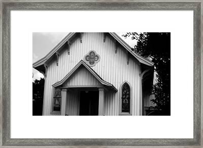 Mount Olivet Church Framed Print
