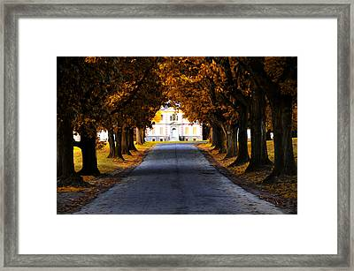 Mount Pleasant Mansion - Philadelphia Framed Print by Bill Cannon