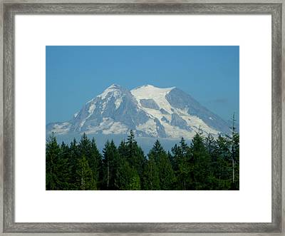Mount Rainier 5 Framed Print
