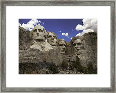 Mount Rushmore  Framed Print