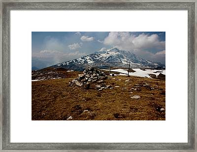 Mount St Barthelemy Framed Print by Frederic Vigne