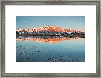 Mount Vettore Framed Print by Photographer  Renzi Tommaso  tommyre00@hotmail.it