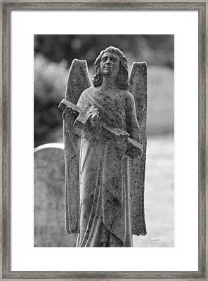Mountain Angel Framed Print by Melissa Wyatt