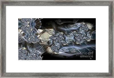 Mountain Bike Framed Print by Ron Bissett