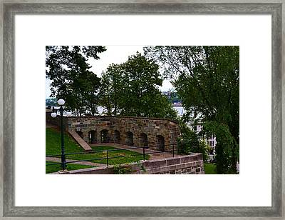 Mountain Color Framed Print by Josee Dube
