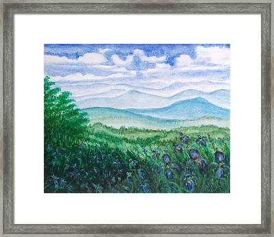 Mountain Glory Framed Print by Jeanette Stewart