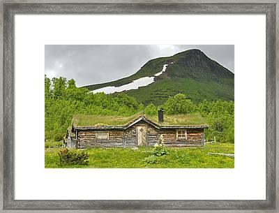 Mountain House Framed Print by Conny Sjostrom