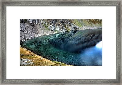 Mountain Lake Framed Print by Martin Marinov