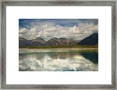 Mountain Lake Framed Print by Tim Reaves