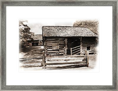 Mountain Life Framed Print by Barry Jones