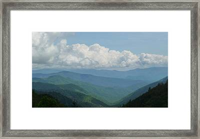 Mountain Magnificence Framed Print by Michael Carrothers