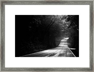 Mountain Road II Framed Print