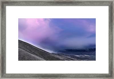 Mountain Storm Framed Print
