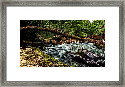 Mountain Stream Iv Framed Print by Christopher Holmes