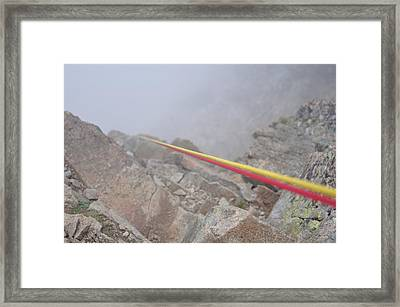 Mountain Strings Framed Print by Miguel Sotomayor