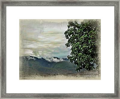 Mountain Time Framed Print