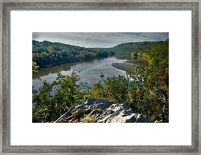 Mountain View Framed Print by Karol Livote