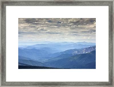 Mountain View, Usa Framed Print by Bob Gibbons