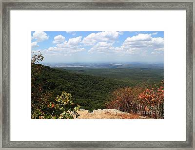 Mountain Vista Framed Print by Theresa Willingham