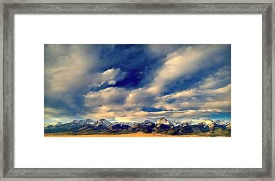 Mountain Wonder.. Framed Print by Al  Swasey