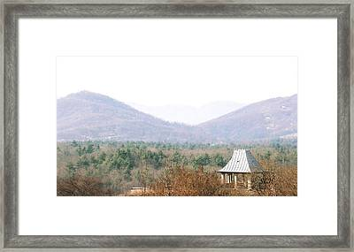 Mountains At Biltmore Framed Print