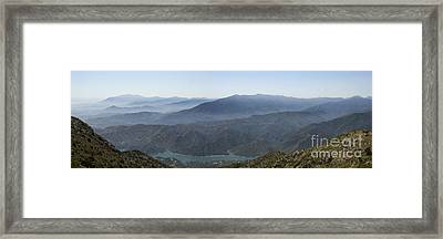 Mountains Of Spain Framed Print by Perry Van Munster