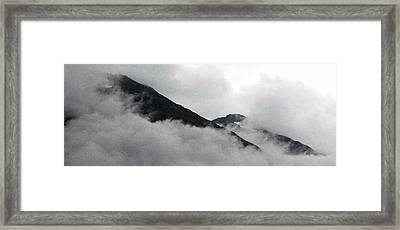 Mountains To Touch The Sky Framed Print