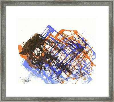 Mountainscape 03 Framed Print by David W Coffin