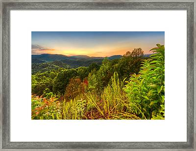 Mountainside Framed Print