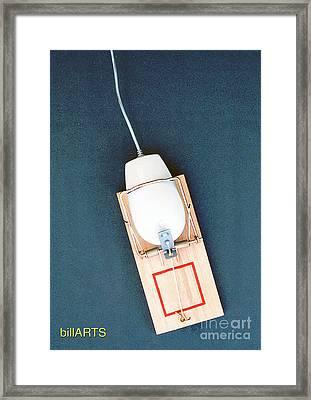 Mouse Trap Framed Print