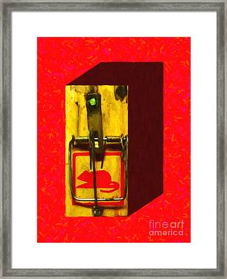 Mouse Trap - Version 1 Framed Print