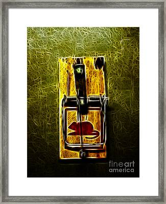 Mouse Trap - Version 2 Framed Print