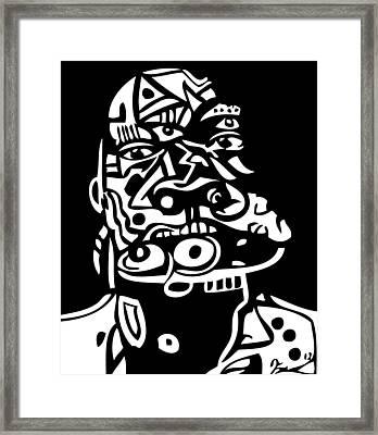 Mouthful Framed Print by Kamoni Khem