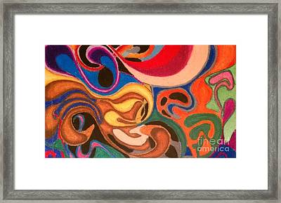 Movement Framed Print by Damion Powell