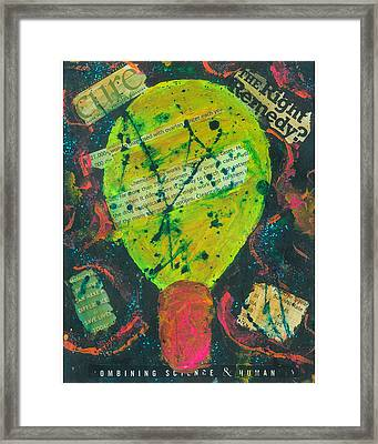 Movers And Shakers-clearity Foundation Framed Print by Annette McElhiney