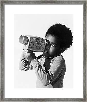 Movie Maker Framed Print