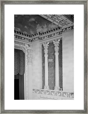 Movie Theaters, Missouri Theater Framed Print by Everett