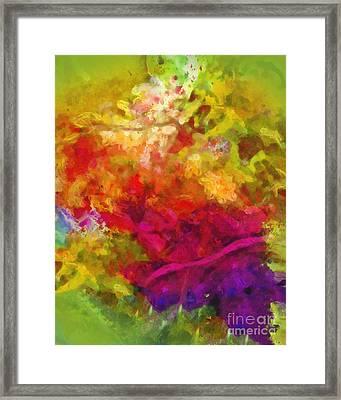 Moving Color Framed Print by Lutz Baar