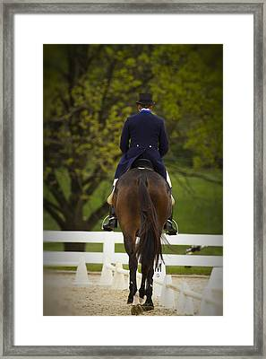 Moving Forward Framed Print by Carrie Cranwill