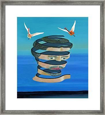 Mr Blue Sky Framed Print by Eric Kempson
