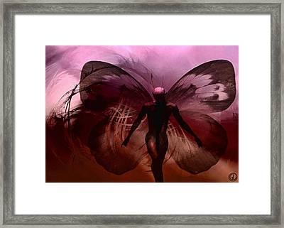 Mr Butterfly Framed Print