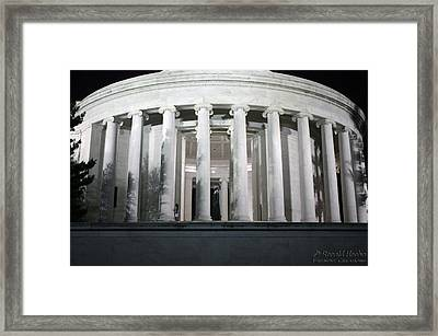 Mr. Jefferson Framed Print